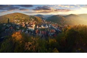 Piesze wędrówki blisko polsko-czeskiej granicy