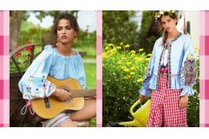 Ludowe hafty, falbany i krata – taki właśnie jest styl country!