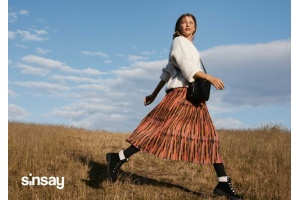 Górska sielanka w kampanii Sinsay Jesień/Zima 2020