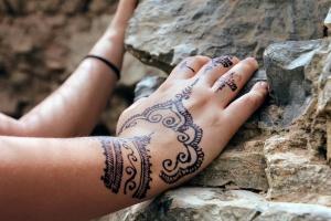 Najciekawsze wzory tatuaży z henny